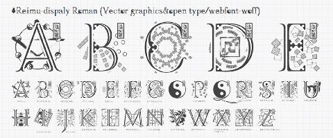 20150111 toho font project04