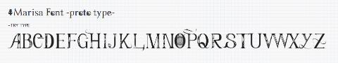 20150111 toho font project05